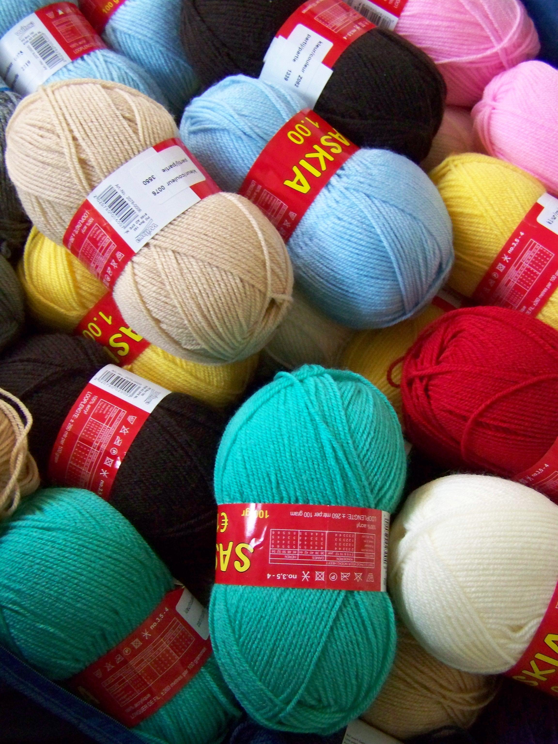 Wool stash