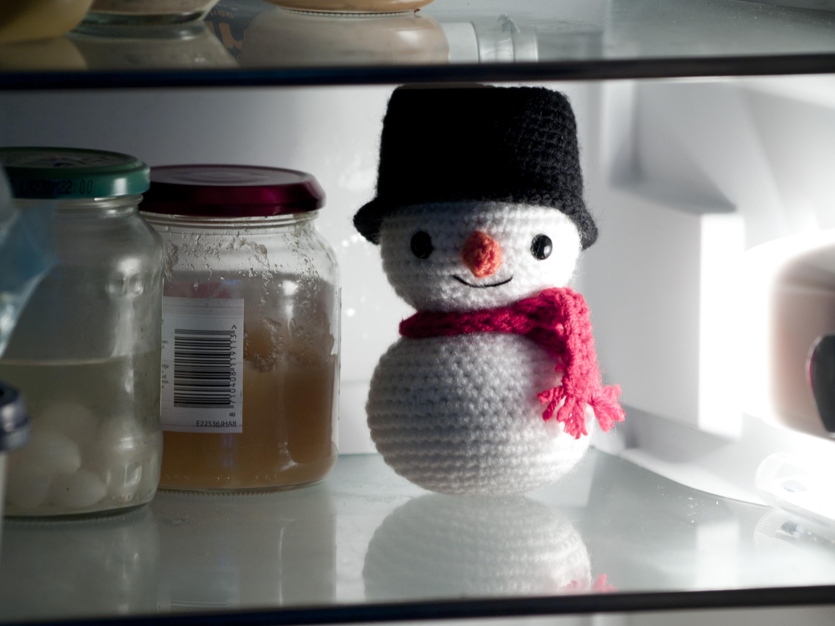 Amigurumi Snowman - AmigurumiWizard crochet pattern