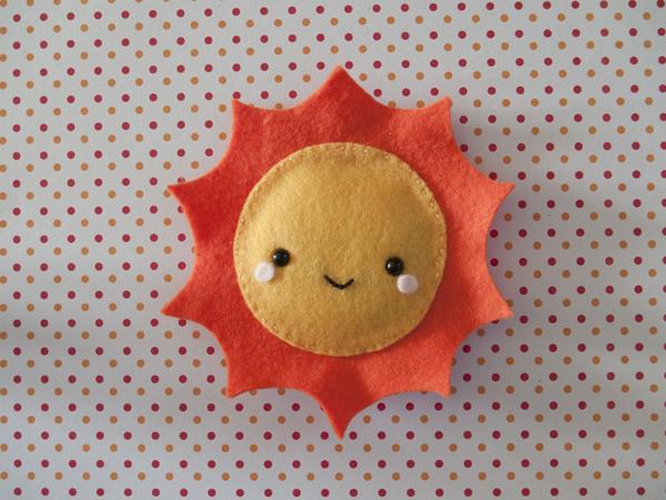 Sun hand warmer